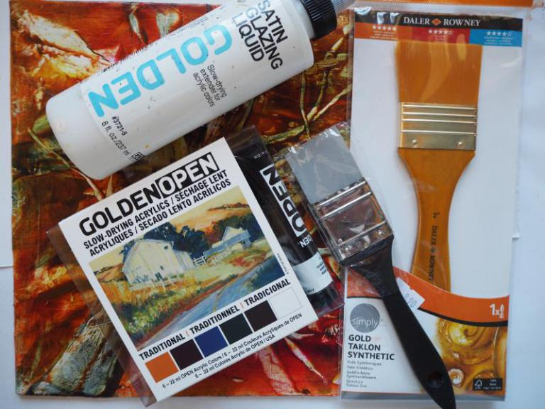 Open Golden Set Acrylfarben